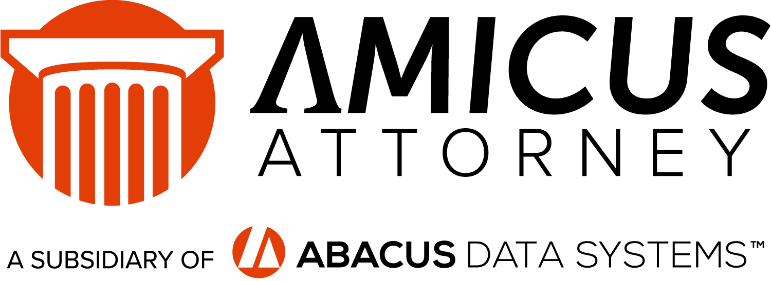 Amicus Attorney: legal practice management software with cloud mobility