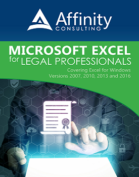 Microsoft Excel for Legal Professionals | Legal Software Training