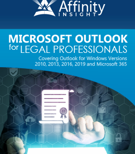Microsoft Outlook for Legal Professionals Manual | Legal Microsoft Office Training