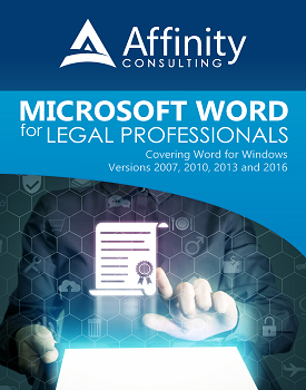 Microsoft Word for Legal Professionals | Legal Software Training