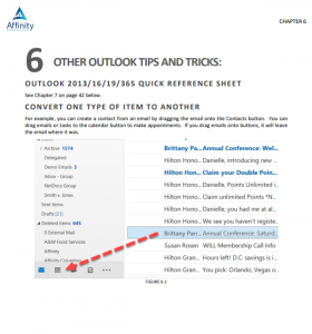 Microsoft Outlook for Legal Professionals Cover Page TOC and Sample Chapter Content   Legal Microsoft Office Training