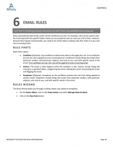 Microsoft Outlook for Legal Professionals Manual | Legal MS Office Training