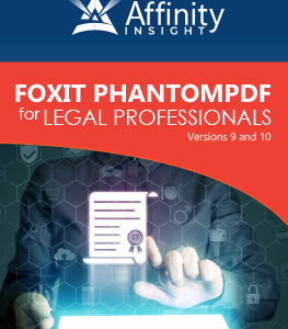Foxit PhantomPDF for Legal Professionals Manual | Legal pdf Software Training