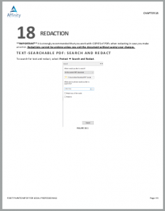 FoxIt PhantomPDF for Legal Professionals Sample Chapter | Legal Software Training