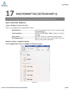 MIcrosoft Word for Mac for Legal Professionals O365 Sample Chapter | Legal Microsoft Office Training