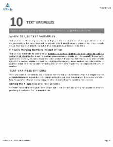 HotDocs for Legal Professionals Manual Sample Chapter | Legal Document Automation