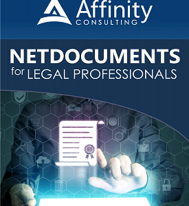 NetDocuments Manual for Legal Professionals | Law Firm Technology Consultants