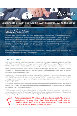 Swift Currie Case Study