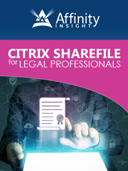 Citrix ShareFile for Legal Professionals Manual | Legal Software Training