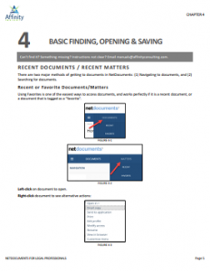 NetDocuments for Mac for Legal Professionals Sample Chapter | Legal Document Management