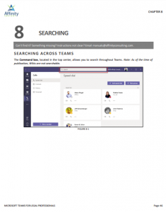Microsoft Teams for Legal Professionals Sample Chapter   Legal Microsoft Office Training