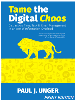 Tame the Digital Chaos PRINT EDITION | Law Firm Consultants