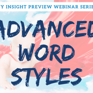 Advanced Word Styles | Legal Microsoft Office Training